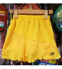 Yonex 26027EX Yellow Women Skort(With Inner Shorts)