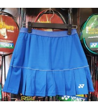 Yonex SKLG017-5504-29L-18S Nautical Blue Women Skort(With Inner Shorts)