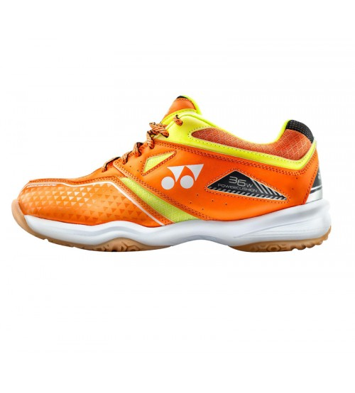 Yonex SHB 36WEX 橙色 寬頭羽毛球鞋(碼數: 36-44) 包运费价,不包税.( 香港及大陆地区) <<赠品 : 袜子1双(价值HK$45.-) 送完即止>>