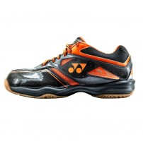 Yonex SHB 36EX 黑橙色 羽毛球鞋(碼數: 36-45.5)包运费价,不包税.( 香港及大陆地区) <<赠品 : 袜子1双(价值HK$45.-) 送完即止>>
