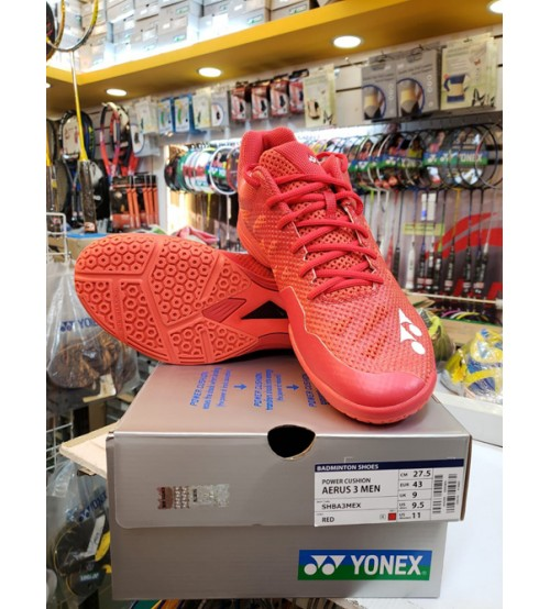 Yonex Aerus 3 紅色 男款 羽毛球鞋