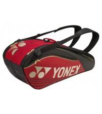 Yonex SUNR9626TG BT6-SR 紅色 6支裝 球拍包