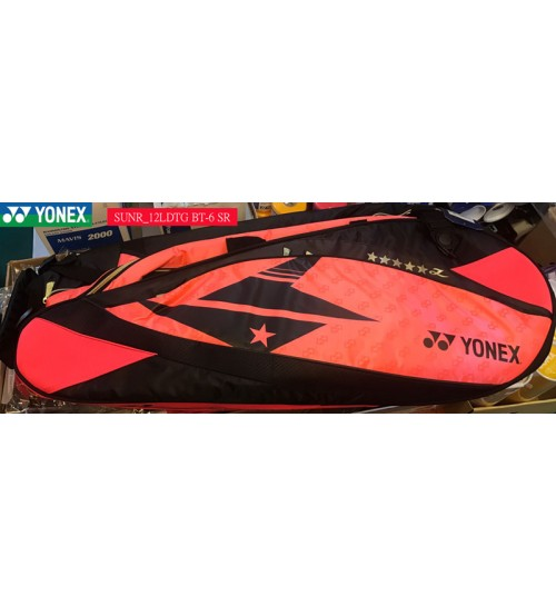 Yonex SUNR 12 LDTG BT6-SR 球拍包(6支裝)