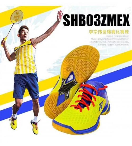 Yonex SHB 03 ZMEX LCW 羽毛球鞋(碼數: 39.5, 40.5,42-45)包运费价,不包税.( 香港及大陆地区) <<赠品 : 袜子1双(价值HK$45.-) 送完即止>>