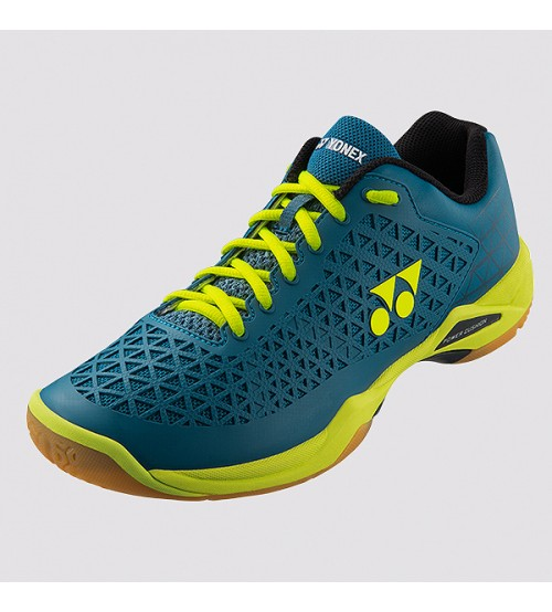 Yonex Power Cushion Eclipsion X  湖水藍_黃色 羽毛球鞋