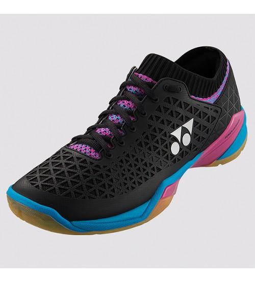 Yonex Power Cushion ELSZLEX 黑色 羽毛球鞋(碼數: 37) 包运费价,不包税.( 香港及大陆地区) <<赠品 : 袜子1双(价值HK$45.-) 送完即止>>