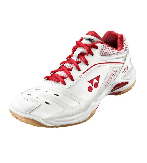 Yonex Power Cushion 65ZL 白紅色 羽毛球鞋 (碼數: 37.5,38)包运费价,不包税.( 香港及大陆地区) <<赠品 : 袜子1双(价值HK$45.-) 送完即止>>