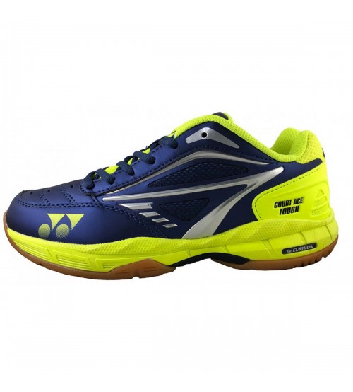 Yonex Court Ace Tough 藍綠色 羽毛球鞋(碼數: 40.5, 44.5) 包运费价,不包税.( 香港及大陆地区) <<赠品 : 袜子1双(价值HK$45.-) 送完即止>>