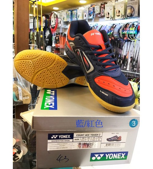Yonex Court Ace Tough 2 藍紅色 羽毛球鞋