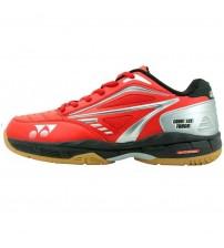 Yonex Court Ace Tough 紅黑銀色 羽毛球鞋 (碼數: 37.5, 39-39.5, 40.5-41, 44.5)包运费价,不包税.( 香港及大陆地区) <<赠品 : 袜子1双(价值HK$45.-) 送完即止>>