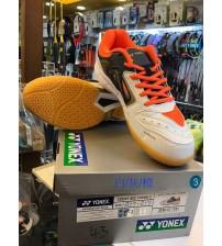 Yonex Court Ace Tough 2 白灰橙色 羽毛球鞋