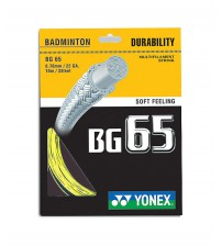 Yonex BG65 羽毛球線
