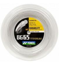 Yonex BG-65Ti Badminton String (200m Reel)