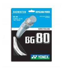 Yonex BG80 羽毛球線