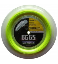 Yonex BG65 羽毛球線 (200m Reel)